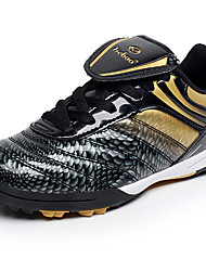 cheap -Boys' Shoes PU Spring / Summer Comfort / Light Soles Athletic Shoes Soccer Shoes Lace-up for Black / Gold / Black / Green