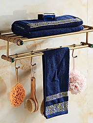 cheap -Towel Racks & Holders Archaistic Free Standing Brass