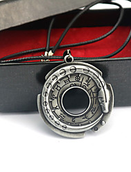 cheap -Clock/Watch Badge Inspired by Assassin Conner Anime Cosplay Accessories Necklace Zinc Alloy