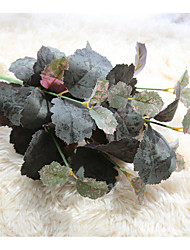 1 Afdeling Polyester Planter Bordblomst Kunstige blomster