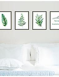 Недорогие -ботанический Наклейки Простые наклейки Декоративные наклейки на стены, Бумага Украшение дома Наклейка на стену Холодильник