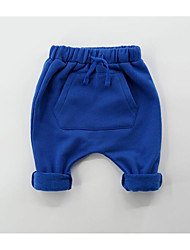 economico -Pantaloni Da ragazzo Tinta unita Inverno Grigio scuro Grigio Royal Blue