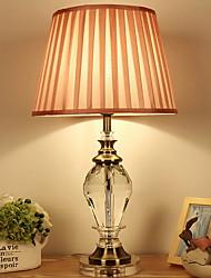 Недорогие -Художественный Защите для глаз Настольная лампа Назначение Хрусталь 220 Вольт Розовый