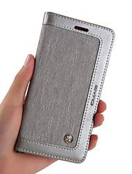 Недорогие -Nillkin Кейс для Назначение Apple iPhone XS / iPhone XS Max Кошелек / Бумажник для карт / со стендом Чехол Однотонный Твердый Кожа PU для iPhone XS / iPhone XR / iPhone XS Max