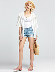 Women's Daily Casual Lawn Vacation Date Going out Daily Athleisure Sexy Simple Cute All Seasons Summer Blouse