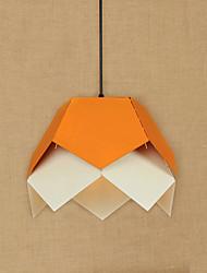 abordables -Lampe suspendue Lumière d'ambiance 110-120V / 220-240V Ampoule non incluse / 10-15㎡ / E26 / E27