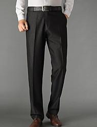 economico -Per uomo Classico Lavoro Pantaloni - Tinta unita