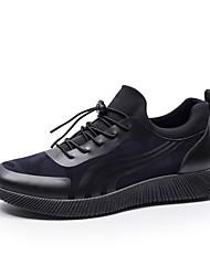 Homme Chaussures Polyuréthane Printemps Automne Confort Sabot & Mules pour Noir