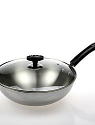 Aluminium Plastic Flat Pan Multi-purpose Pot,32*9