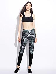 billige -Dame Aktiv Skinny Aktiv Bukser Camouflage
