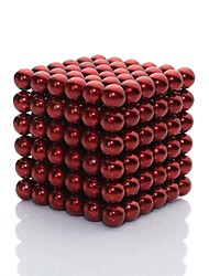 cheap -Magnet Toy Magnetic Blocks / Magnetic Balls / Super Strong Rare-Earth Magnets 216pcs Artistic Glossy Gift