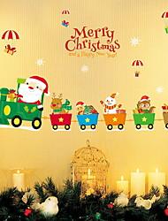 economico -Natale Adesivi murali Adesivi aereo da parete Adesivi decorativi da parete,Vinile Decorazioni per la casa Sticker murale Parete Finestra