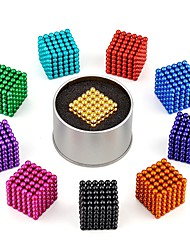 cheap -Magnet Toys Super Strong Rare-Earth Magnets Magnetic Blocks Magnetic Balls Stress Relievers 216 Pieces Toys Classic Style Stress and