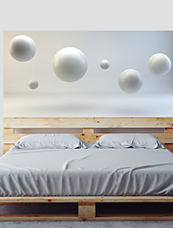 cheap -Shapes 3D Wall Stickers 3D Wall Stickers Decorative Wall Stickers, Vinyl Home Decoration Wall Decal Wall