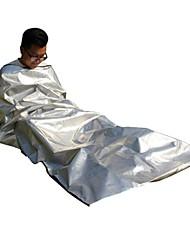 preiswerte -Rettungsdecke Rechteckiger Schlafsack 26°C wärmespeichernde Wärmeisoliert 220X105 Reisen Camping & Wandern Einzelbett(150 x 200 cm)
