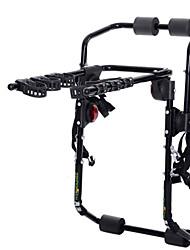 cheap -Bike Trunk Mount Rack Cycling Adjustable / Retractable Portable 3-Bike Carbon Steel