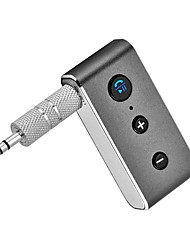 cheap -Bluetooth Car Kit 4.2 Stereo Audio Receiver Handsfree Adapter For Cellphone Music To AUX Bluetooth Stereo