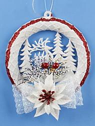 1pç Natal Enfeites de Natal Decorações de férias,15*16