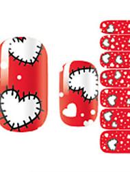 cheap -1 Nail Decals Nail Sticker Multi-Color Nail Art Design Decoration