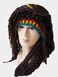 cheap -American Indian Hats Brown Bonded Cosplay Accessories Christmas