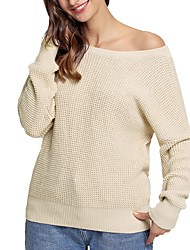 cheap -Women's Long Sleeves Cardigan - Solid