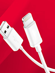 billige -Lightning Kabel Opladerkabel Opladerledning Data & Synkronisering Normal Kabel Til Apple iPhone iPad 100 cm TPU