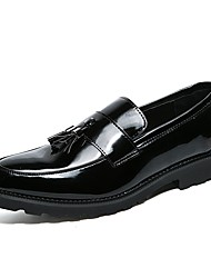 Men's Shoes Patent Leather Customized Materials Winter Fall Formal Shoes Comfort Loafers & Slip-Ons Null Null Bowknot For Office & Career