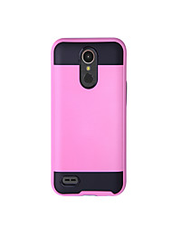 cheap -Case For LG K8 (2017) K10 (2017) Shockproof Full Body Solid Color Hard TPU for LG K10 (2017) LG K10 LG K8 (2017) LG K7 LG K4(2017) LG G6