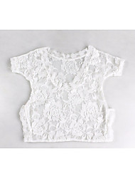 Baby Unisex Tøjsæt Daglig Ensfarvet,Bomuld Bambus Fiber Alle årstider Simple Hvid Sort