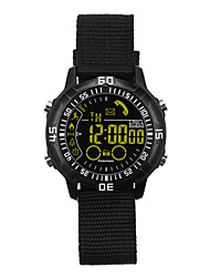 cheap -Smart Watch Time Display Water Resistant / Water Proof Calories Burned Pedometers Distance Tracking Message Reminder Call Reminder