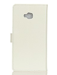 Недорогие -Кейс для Назначение Asus Zenfone 4 Selfie ZD552KL Бумажник для карт Кошелек Флип Чехол Сплошной цвет Твердый Кожа PU для Asus Zenfone 4