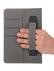 étui en simili cuir solide avec support à main pour lenvov tab3 8.0-850f 8 pouces tablet pc