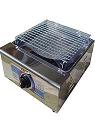baratos -Fogareiro a Gás Para Acampamento Utensílios para cozinha ao ar livre Vestível Metalic Aço Inoxidável para Campismo