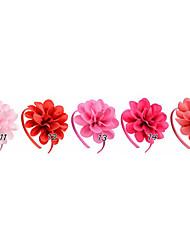 economico -gioielli per bambini fiore multistrato fiocco fatto a mano con acconciatura per capelli accessori per capelli copricapo per capelli 5 pz