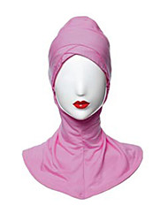 cheap -Egyptian Costume Hijab / Khimar Women's Festival / Holiday Halloween Costumes Cyan Light Purple Brown Blue Pink Solid Colored