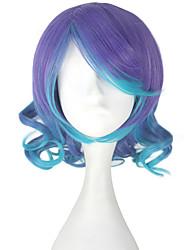 economico -Parrucche Cosplay Vocaloid Megurine Luka Anime Parrucche Cosplay 33 CM Tessuno resistente a calore Per donna