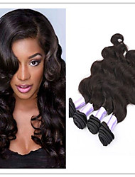 cheap -Unprocessed Brazilian Virgin Body Wave Remy Human Hair Extensions Weaves Wefts 4 Bundles 100 Grams