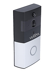 cheap -VESKYS Smart Wireless Wifi Video Doorbell 720P Camera Night Vision IR Motion Detection Alarm