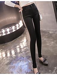 cheap -Women's Fleece Lined Legging - Classic, Solid