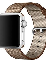 abordables -Bracelet de Montre  pour Apple Watch Series 3 / 2 / 1 Apple Boucle Moderne Nylon Sangle de Poignet