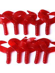 economico -10 pc Esche morbide Plastica Pesca di mare Lenze trainate & Barchette