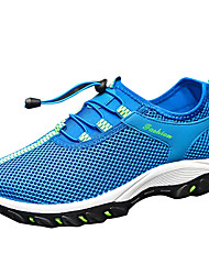 cheap -Men's Tulle Spring / Summer Comfort Athletic Shoes Gray / Army Green / Light Blue / Running Shoes