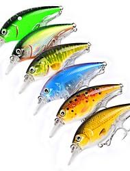 preiswerte -6 Stück Angelköder kleiner Fisch Harte Fischköder Kunststoff Outdoor Seefischerei Bootsangeln / Schleppangelfischen Spinnfischen