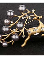 cheap -Women's Brooches - Animals / Fashion Geometric Gold / Silver Brooch For Party / Ceremony