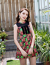 cheap -Women's Boho Strap Tankini - Floral