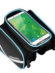 economico -ROSWHEEL Borsa da bici Bag Cell Phone Marsupio triangolare da telaio bici Indossabile Facile da applicare Marsupio da bici pelle