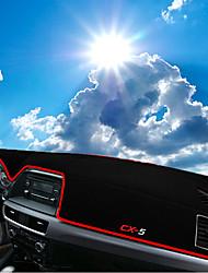 Недорогие -автомобильный Маска для приборной панели Коврики на приборную панель Назначение Mazda Все года CX5