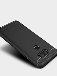 cheap -Case For LG V30 Q6 Frosted Back Cover Solid Color Soft TPU for LG V30 LG Q6 LG G6