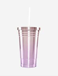 Недорогие -Натуральное волокно Нержавеющая сталь Бокал Новогодние подарки День рождения Drinkware 1