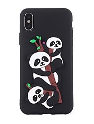 Θήκη Za Apple iPhone X iPhone 8 Otporno na trešnju Uzorak Kućište Panda Mekano TPU za iPhone X iPhone 8 Plus iPhone 8 iPhone 7 Plus
